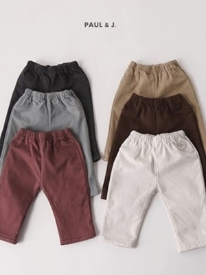 PAUL & J - BRAND - Korean Children Fashion - #Kfashion4kids - Dusty Jeggings