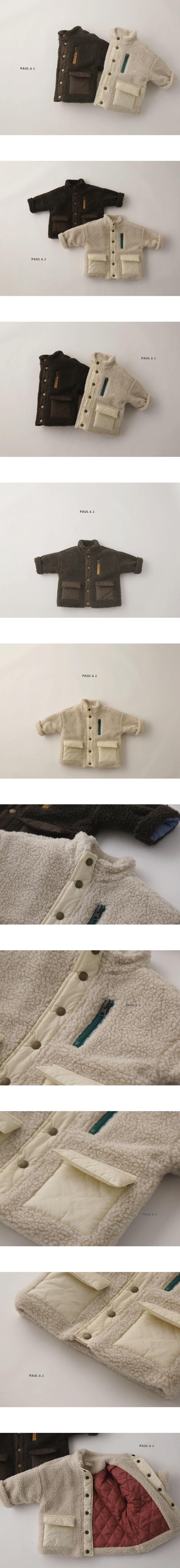 PAUL & J - Korean Children Fashion - #Kfashion4kids - Benny Dumble Jumper