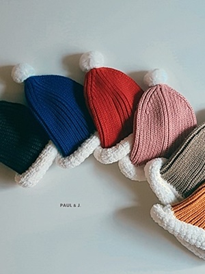 PAUL & J - BRAND - Korean Children Fashion - #Kfashion4kids - Santa Beanie