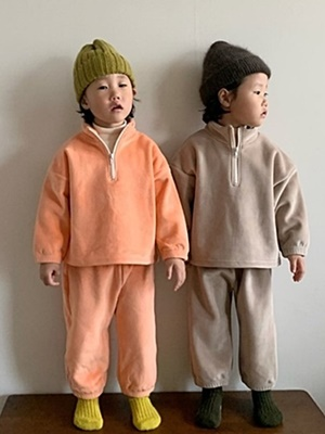 PAUL & J - BRAND - Korean Children Fashion - #Kfashion4kids - Fave Top Bottom Set