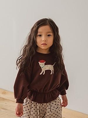 PEANUTS - BRAND - Korean Children Fashion - #Kfashion4kids - Cat MTM
