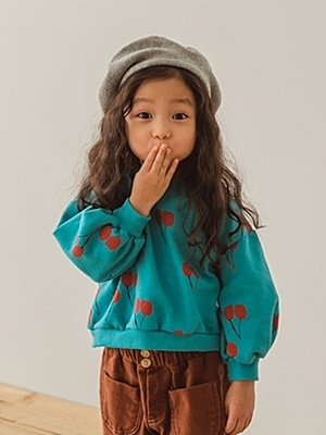PEANUTS - BRAND - Korean Children Fashion - #Kfashion4kids - Cherry MTM
