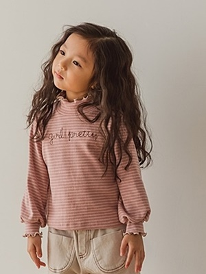 PEANUTS - BRAND - Korean Children Fashion - #Kfashion4kids - Girly Frill Tee