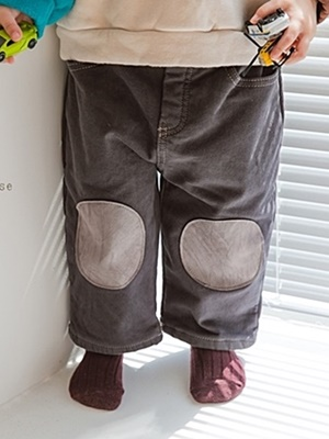 PEANUTS - BRAND - Korean Children Fashion - #Kfashion4kids - Bread Patch Bonding Pants