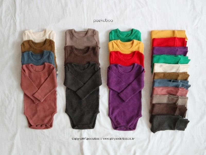 PEEKABOO - BRAND - Korean Children Fashion - #Kfashion4kids - Win Bodysuit with Pants
