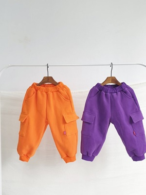 RIWOO RIWOO - BRAND - Korean Children Fashion - #Kfashion4kids - Color Cargo Pants