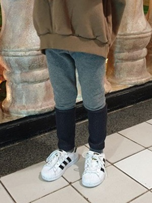 RIWOO RIWOO - BRAND - Korean Children Fashion - #Kfashion4kids - Knit Banding Leggings