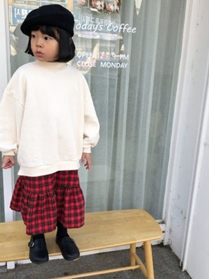 RIWOO RIWOO - BRAND - Korean Children Fashion - #Kfashion4kids - Layered Half Turtleneck One-piece