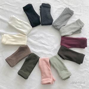 WHITESKETCHBOOK - BRAND - Korean Children Fashion - #Kfashion4kids - Warm Fleece Leggings