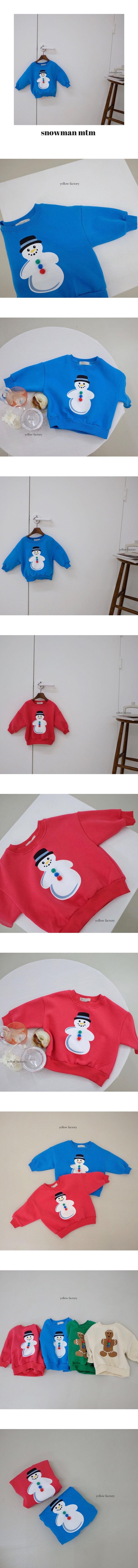 YELLOW FACTORY - Korean Children Fashion - #Kfashion4kids - Snow MTM