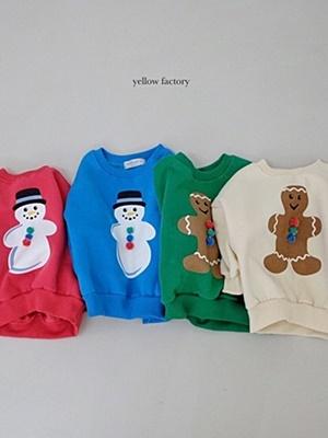 YELLOW FACTORY - BRAND - Korean Children Fashion - #Kfashion4kids - Snow MTM