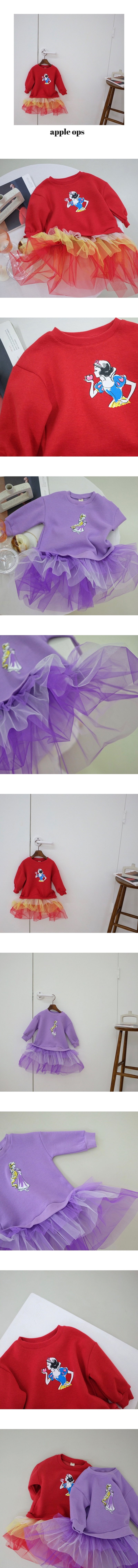 YELLOW FACTORY - Korean Children Fashion - #Kfashion4kids - Apple One-piece