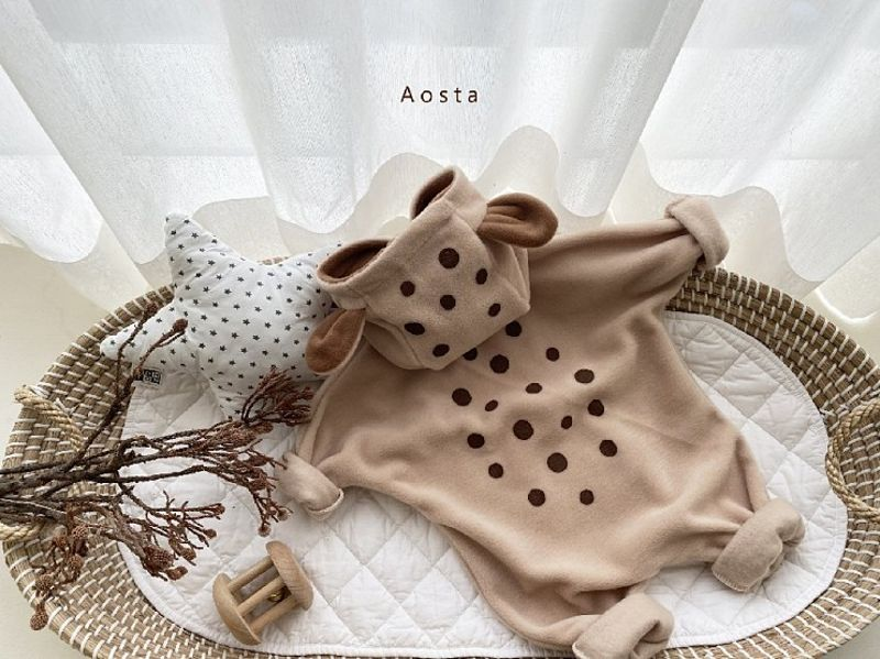 AOSTA - Korean Children Fashion - #Kfashion4kids - Bambi Outer Bodysuit - 3