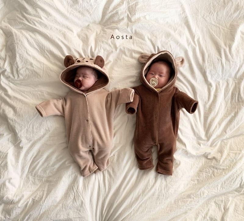 AOSTA - Korean Children Fashion - #Kfashion4kids - Bambi Outer Bodysuit - 4