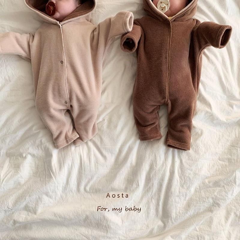 AOSTA - Korean Children Fashion - #Kfashion4kids - Bambi Outer Bodysuit - 5