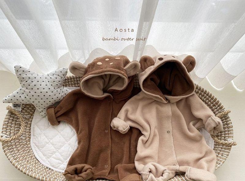 AOSTA - Korean Children Fashion - #Kfashion4kids - Bambi Outer Bodysuit - 6