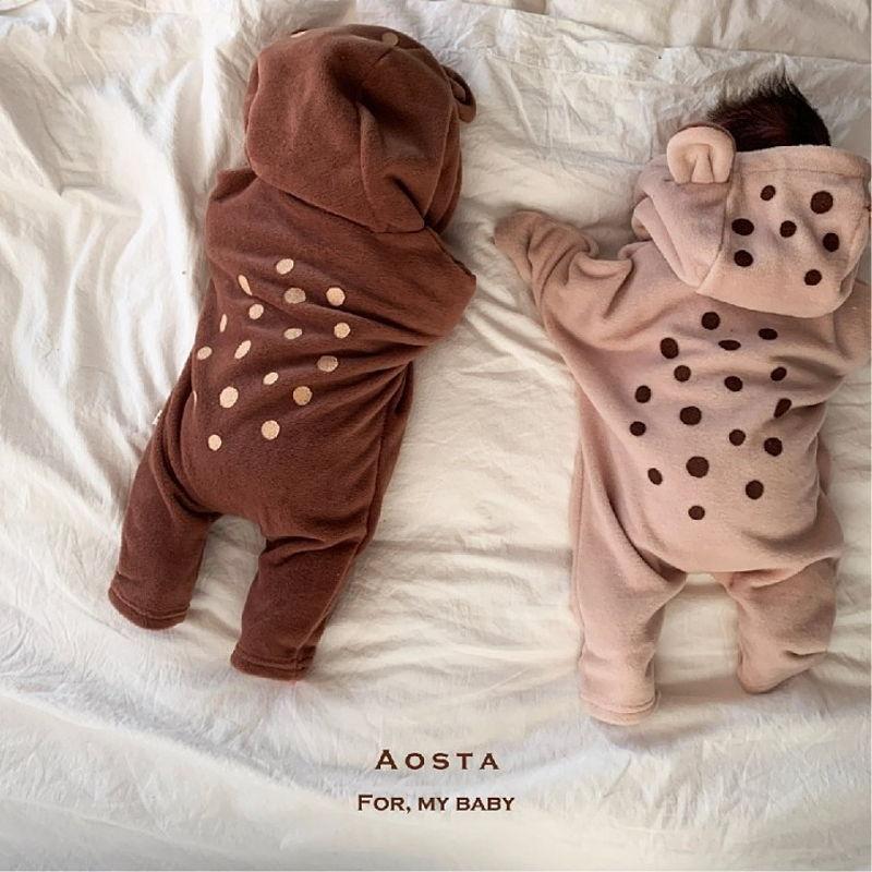 AOSTA - Korean Children Fashion - #Kfashion4kids - Bambi Outer Bodysuit - 7