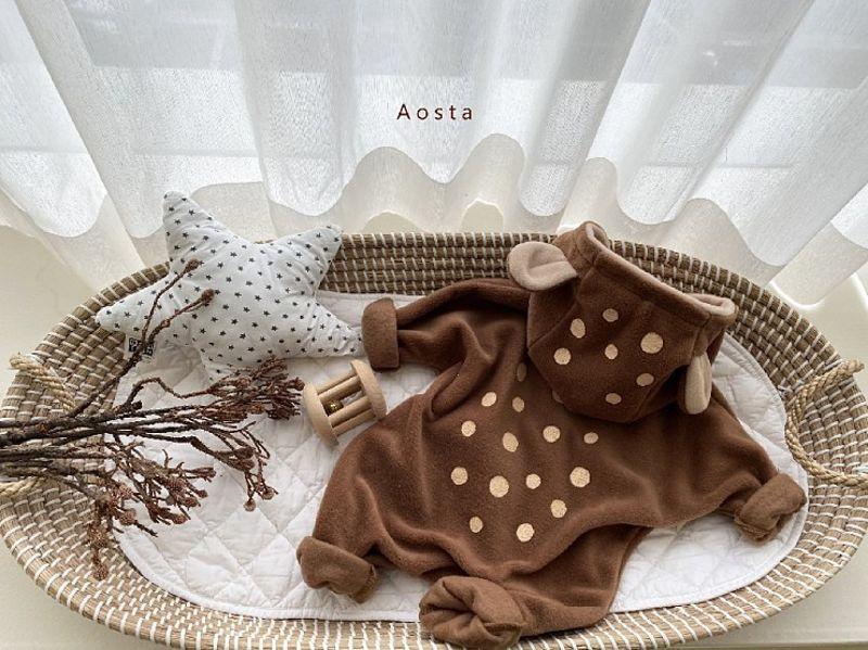AOSTA - Korean Children Fashion - #Kfashion4kids - Bambi Outer Bodysuit - 8