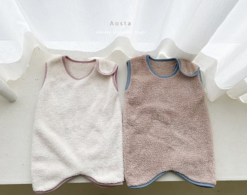 AOSTA - Korean Children Fashion - #Kfashion4kids - Fleece Sleeping Vest