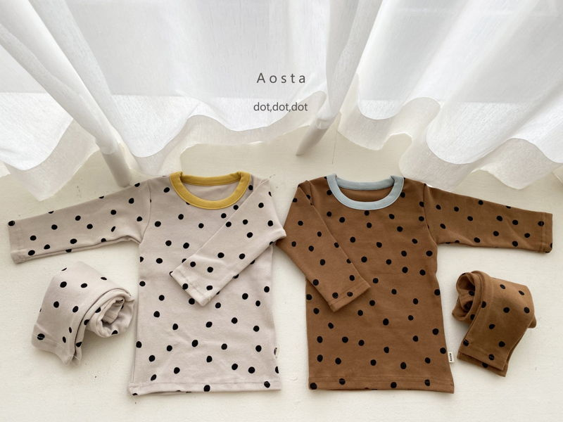 AOSTA - Korean Children Fashion - #Kfashion4kids - Dot Dot Easywear