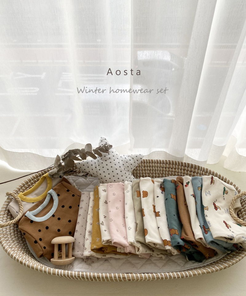 AOSTA - Korean Children Fashion - #Kfashion4kids - Dot Dot Easywear - 3
