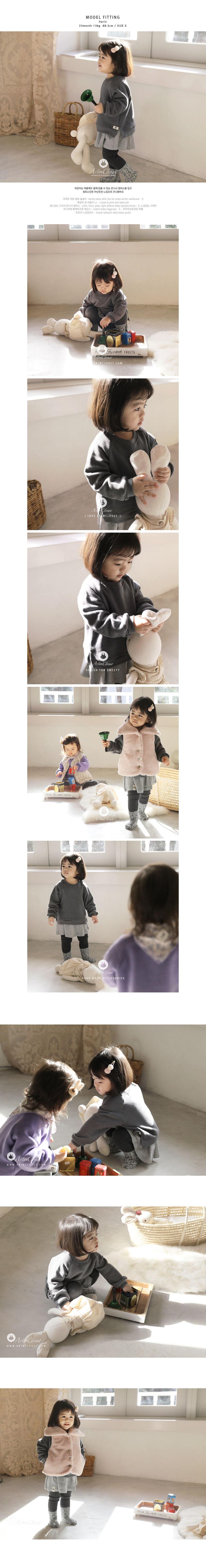 ARIM CLOSET - Korean Children Fashion - #Kfashion4kids - Baby Cotton Winter MTM - 3