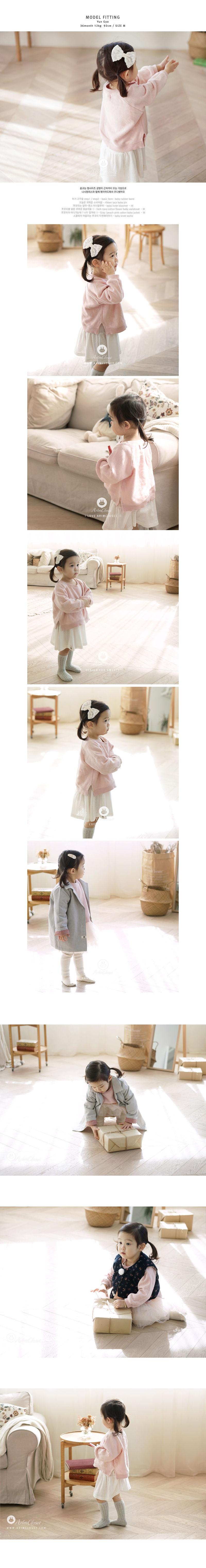 ARIM CLOSET - Korean Children Fashion - #Kfashion4kids - Baby Cotton Winter MTM - 4