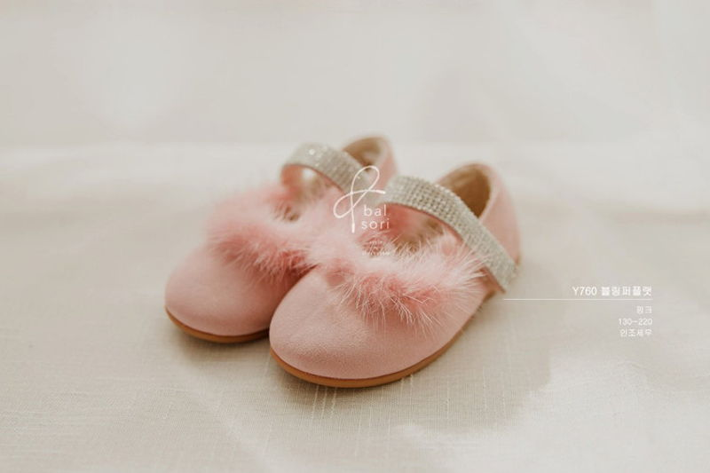 BABYZZAM - BRAND - Korean Children Fashion - #Kfashion4kids - Bling Flat