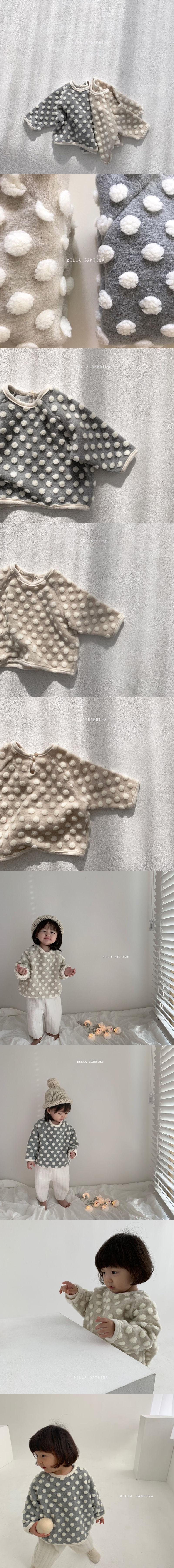 BELLA BAMBINA - Korean Children Fashion - #Kfashion4kids - Snow Flower Dot MTM