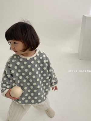 BELLA BAMBINA - BRAND - Korean Children Fashion - #Kfashion4kids - Snow Flower Dot MTM