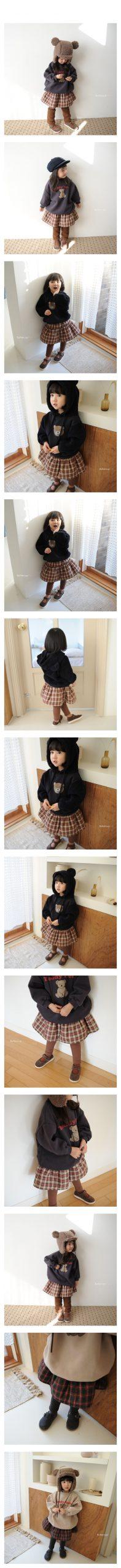 BUTTERCUP - Korean Children Fashion - #Kfashion4kids - Check Skirt Leggings