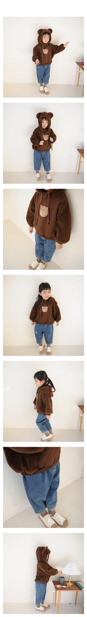 BUTTERCUP - Korean Children Fashion - #Kfashion4kids - Denim Banding Pants