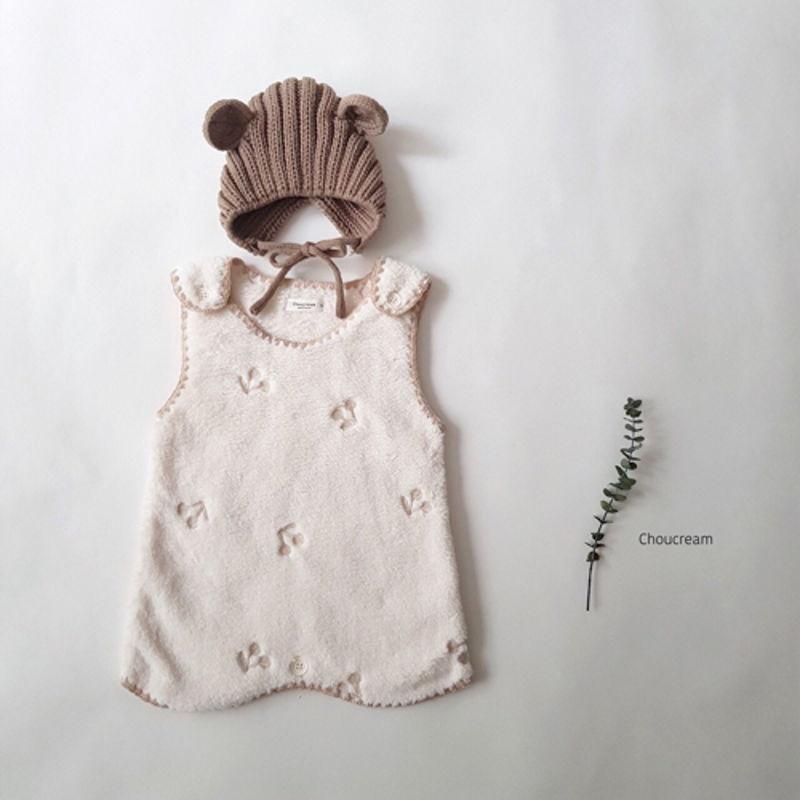CHOUCREAM - Korean Children Fashion - #Kfashion4kids - Cherry Sleeping Vest