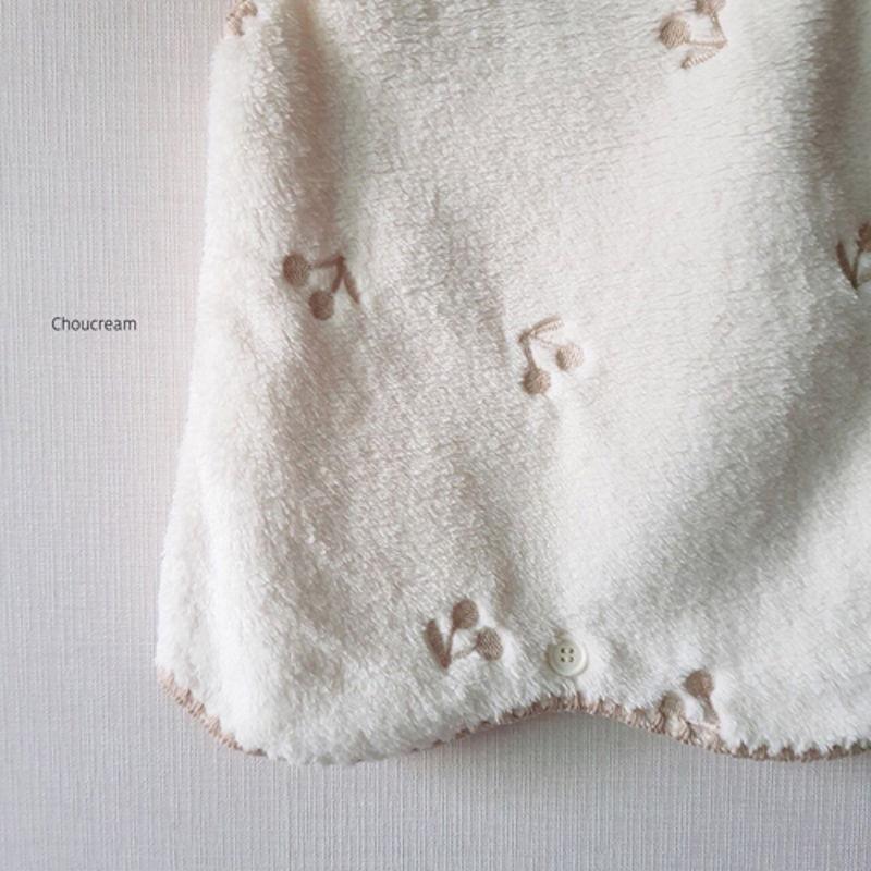 CHOUCREAM - Korean Children Fashion - #Kfashion4kids - Cherry Sleeping Vest - 10