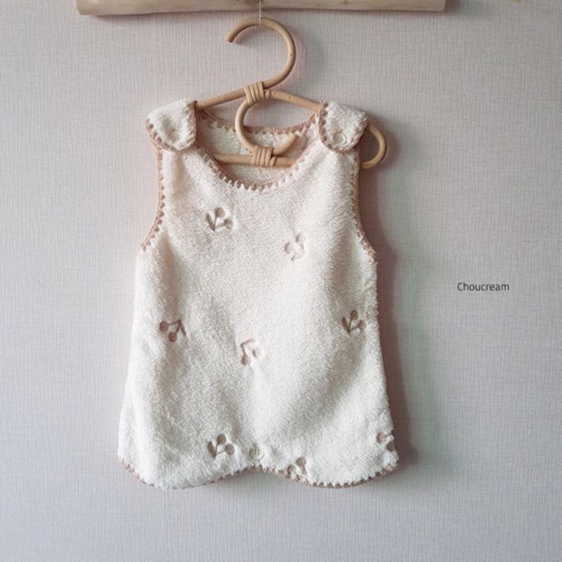 CHOUCREAM - Korean Children Fashion - #Kfashion4kids - Cherry Sleeping Vest - 2