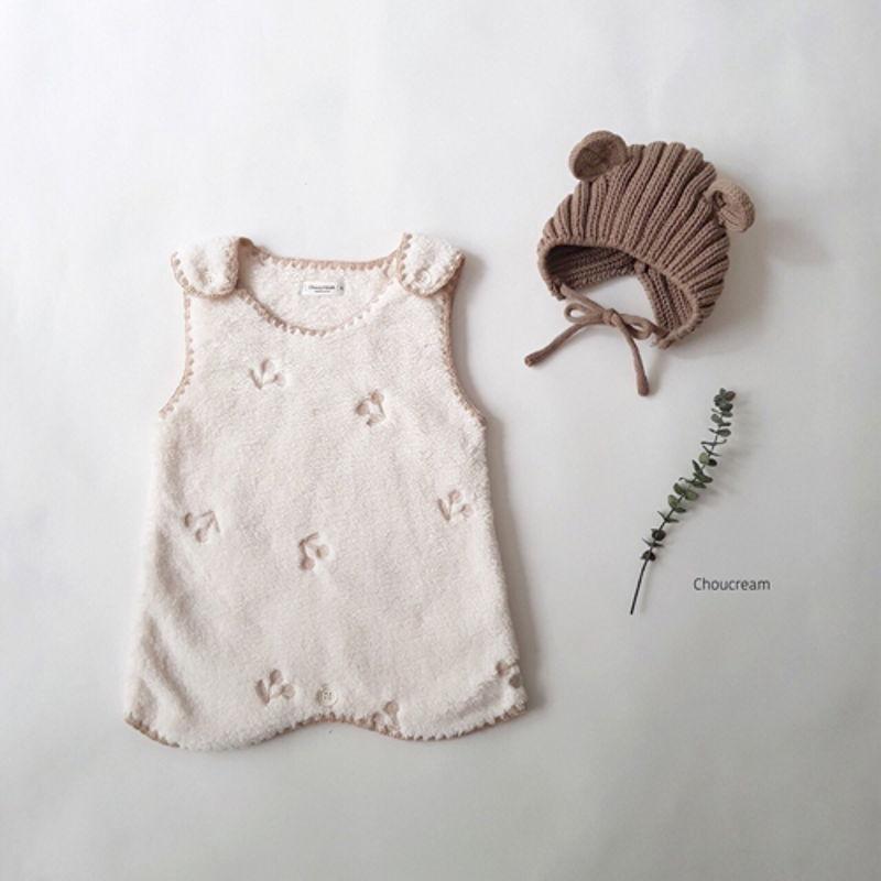 CHOUCREAM - Korean Children Fashion - #Kfashion4kids - Cherry Sleeping Vest - 3