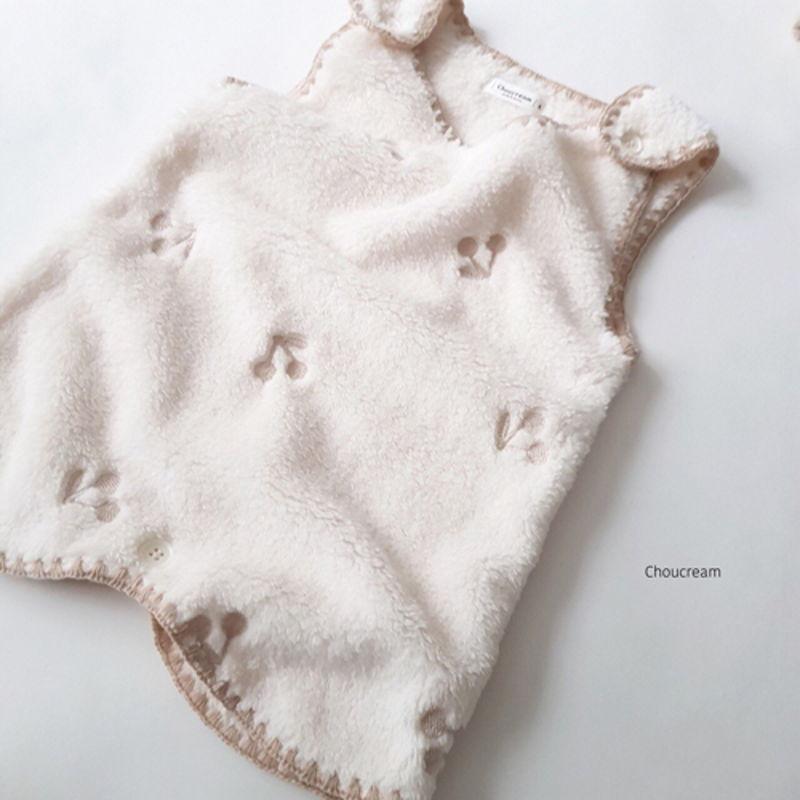 CHOUCREAM - Korean Children Fashion - #Kfashion4kids - Cherry Sleeping Vest - 6