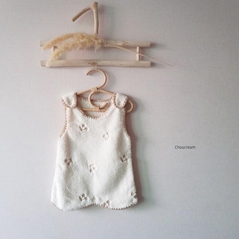 CHOUCREAM - Korean Children Fashion - #Kfashion4kids - Cherry Sleeping Vest - 8