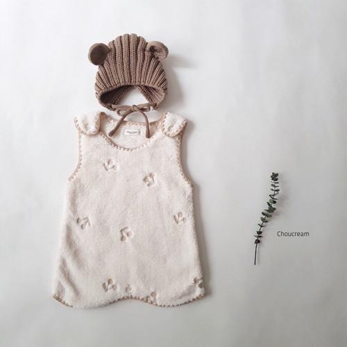 CHOUCREAM - BRAND - Korean Children Fashion - #Kfashion4kids - Cherry Sleeping Vest