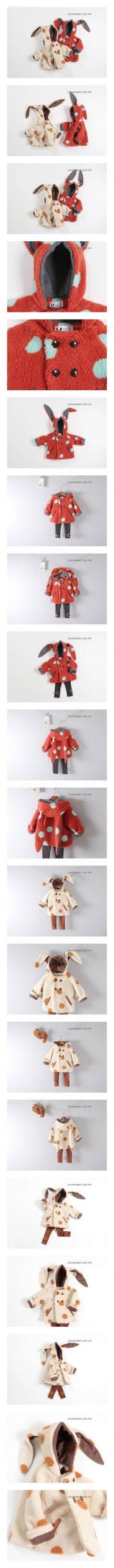 COCO RABBIT - Korean Children Fashion - #Kfashion4kids - Dot Rabbit Jacket