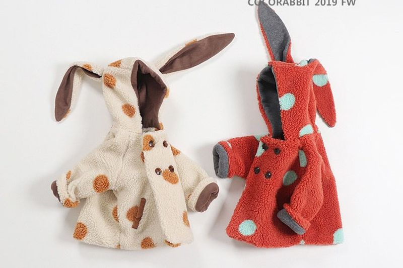 COCO RABBIT - BRAND - Korean Children Fashion - #Kfashion4kids - Dot Rabbit Jacket