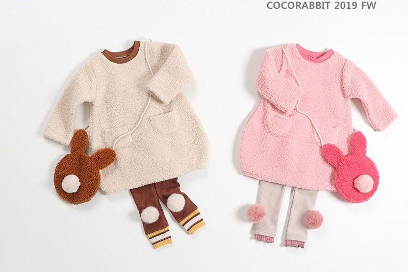 COCO RABBIT - BRAND - Korean Children Fashion - #Kfashion4kids - Dumble Rabbit Bag One-piece
