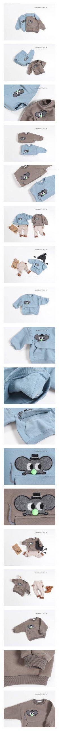 COCO RABBIT - Korean Children Fashion - #Kfashion4kids - Mouse MTM