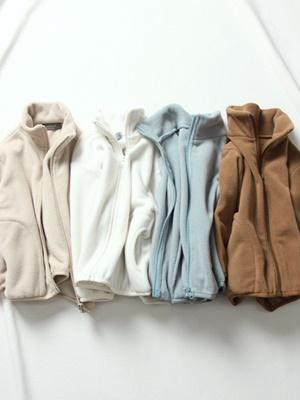 CREAMCOK - BRAND - Korean Children Fashion - #Kfashion4kids - 36 Fleece Zip-up Jacket