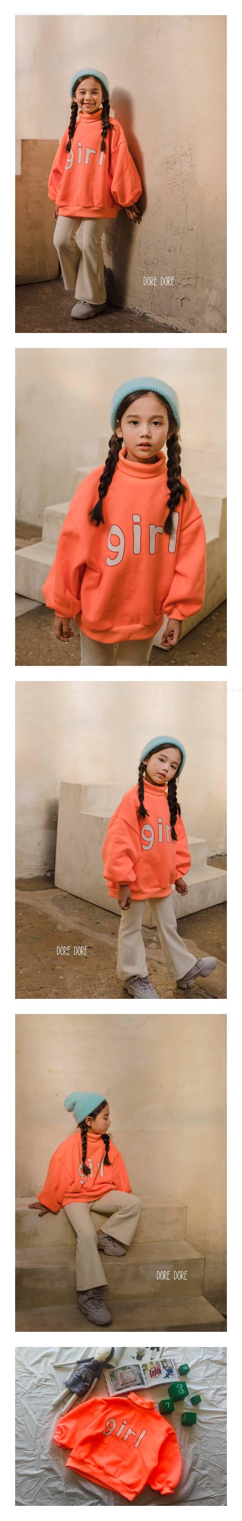 DORE DORE - Korean Children Fashion - #Kfashion4kids - Orange Girl MTM