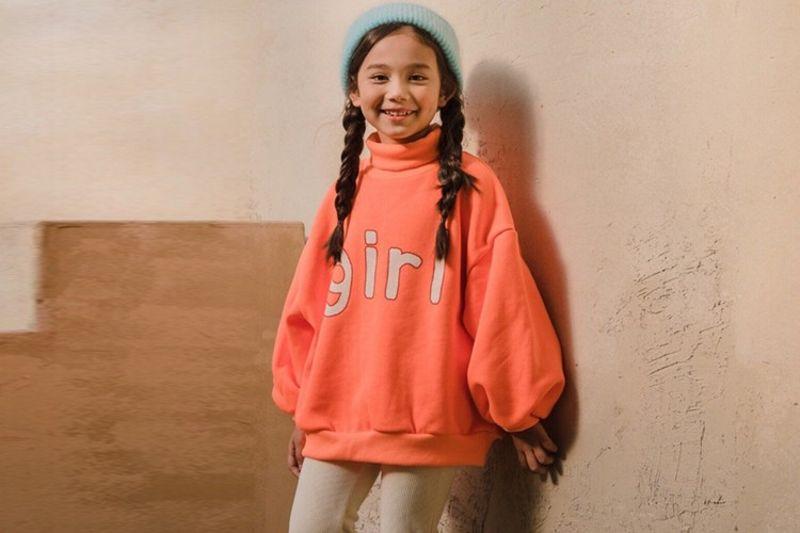 DORE DORE - BRAND - Korean Children Fashion - #Kfashion4kids - Orange Girl MTM