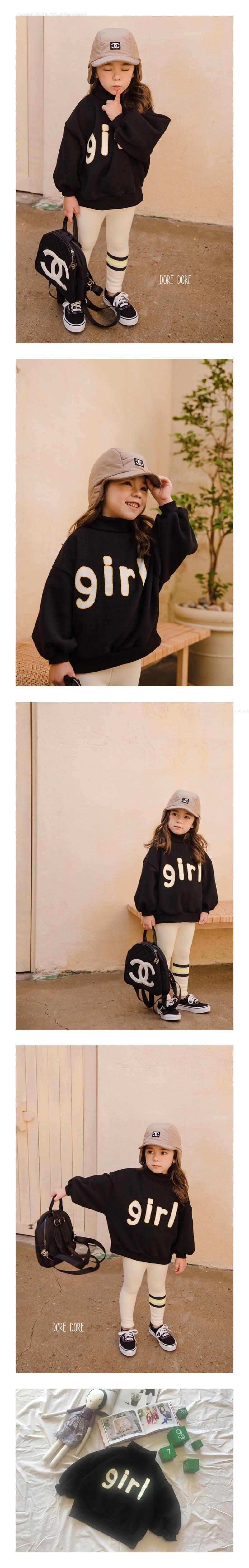 DORE DORE - Korean Children Fashion - #Kfashion4kids - Black Girl MTM