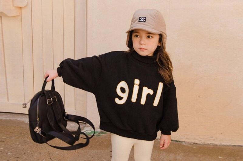 DORE DORE - BRAND - Korean Children Fashion - #Kfashion4kids - Black Girl MTM