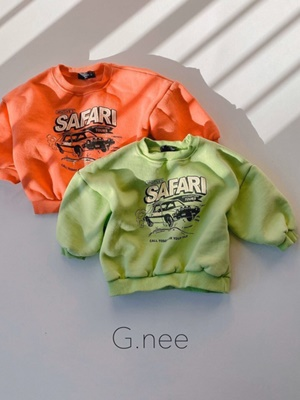 G.NEE - BRAND - Korean Children Fashion - #Kfashion4kids - Car MTM