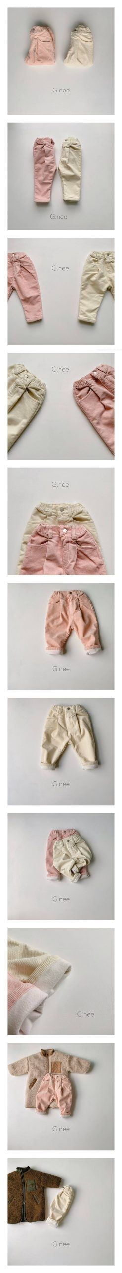 G.NEE - Korean Children Fashion - #Kfashion4kids - Janny Bonding Baggy Pants